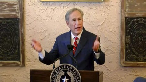 Governor of Texas announcing the end of the mask mandate.