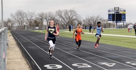 Mustangs compete in their first outdoor meet of the season.