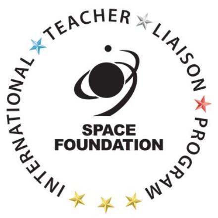 The logo for the Space Foundation International Teacher Liaison program.