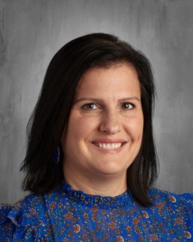 Karen Krusing moves to the Middle School to teach sixth and seventh grade.