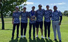 The MCA golf state team.