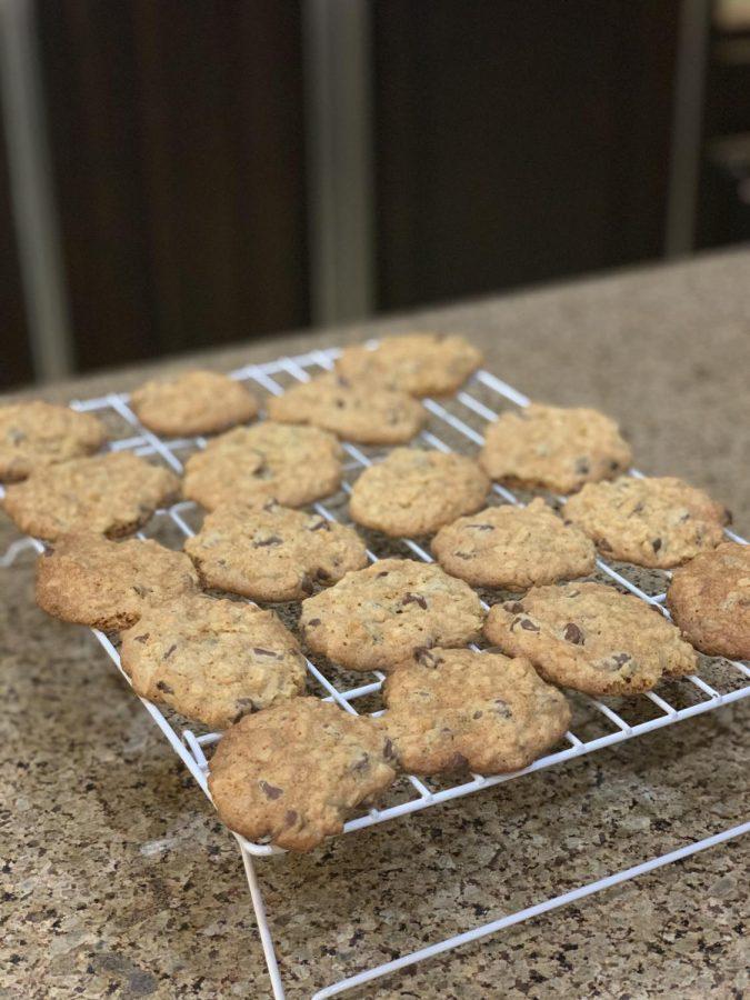 Chocolate+Chip+Oatmeal+Cookies