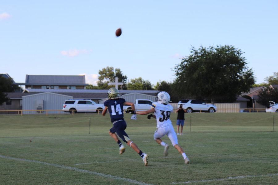 Junior Varsity Football Falls Short of Victory