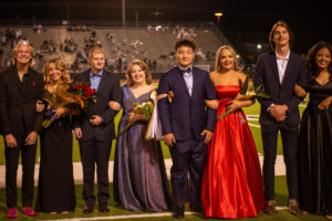 This years seniors nominated for homecoming court.