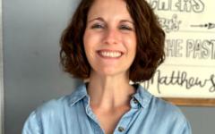 New Director of Student Ministries, Student Activities and Bible teacher Rebekah Bennett.