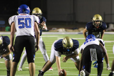 Mustang Football plays well offense against Tyler Grace